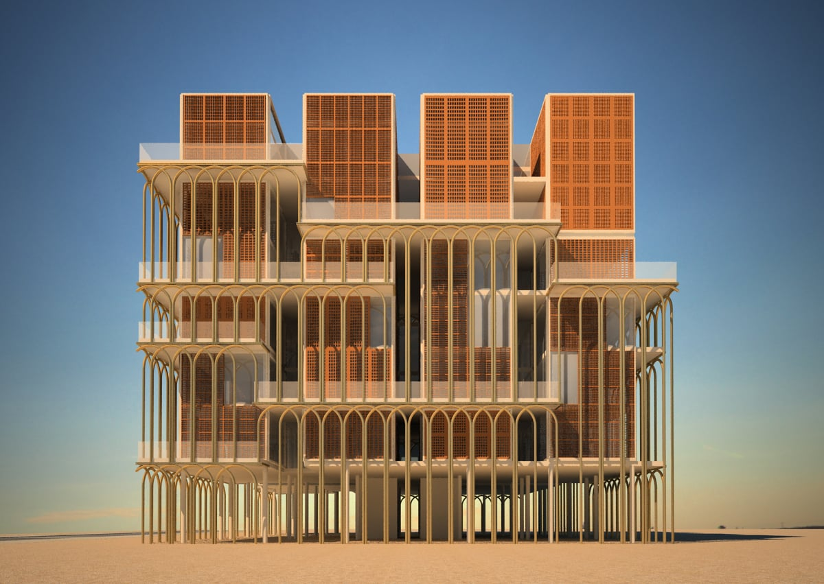 Queen Hotel, Dubai, Uae - RECS Architects